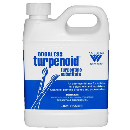 Weber Odorless Turpenoid Oil Painting Supplies Cleaning Cleaning Supplies