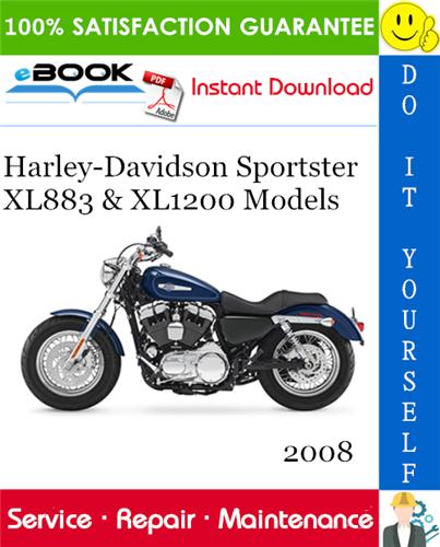 2008 Harley Davidson Sportster Xl883 Xl1200 Models Xl883 Xl883r Xl883l Low Xl883c Custom Xl1200n Nig Harley Davidson Sportster Harley Davidson Sportster
