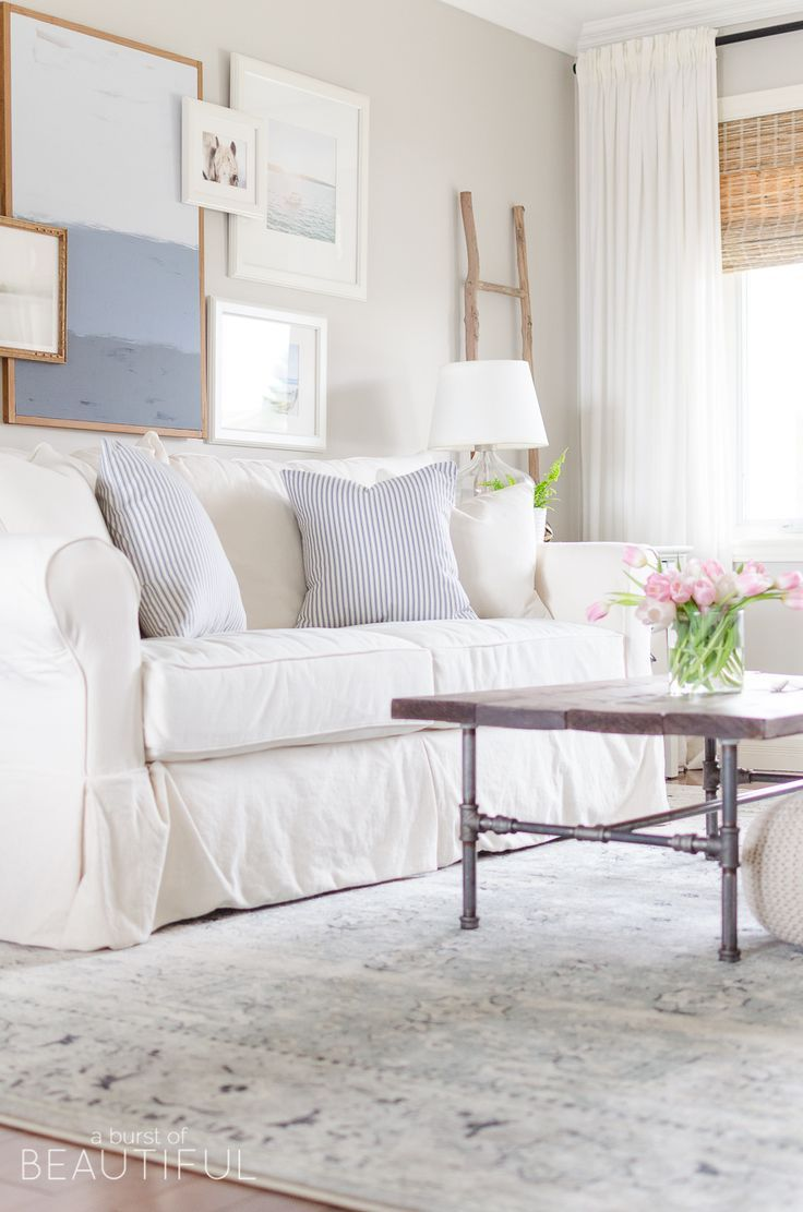 new navy blue vintage wash rug in our living room livingroom rh pinterest com
