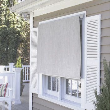Coolaroo Premier Series Roller Shade Outside Interesting With Images Shades Blinds Solar Shades Window Shades