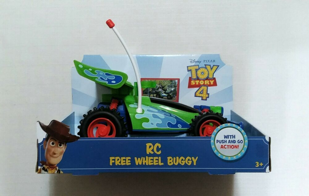 Toy Story 4 Rc Free Wheel Buggy With Push And Go Action Disney Mattel Toy Story Toys Pixar Toys