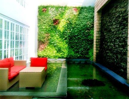 taman bunga di lahan sempit   desain rumah minimalis 2015