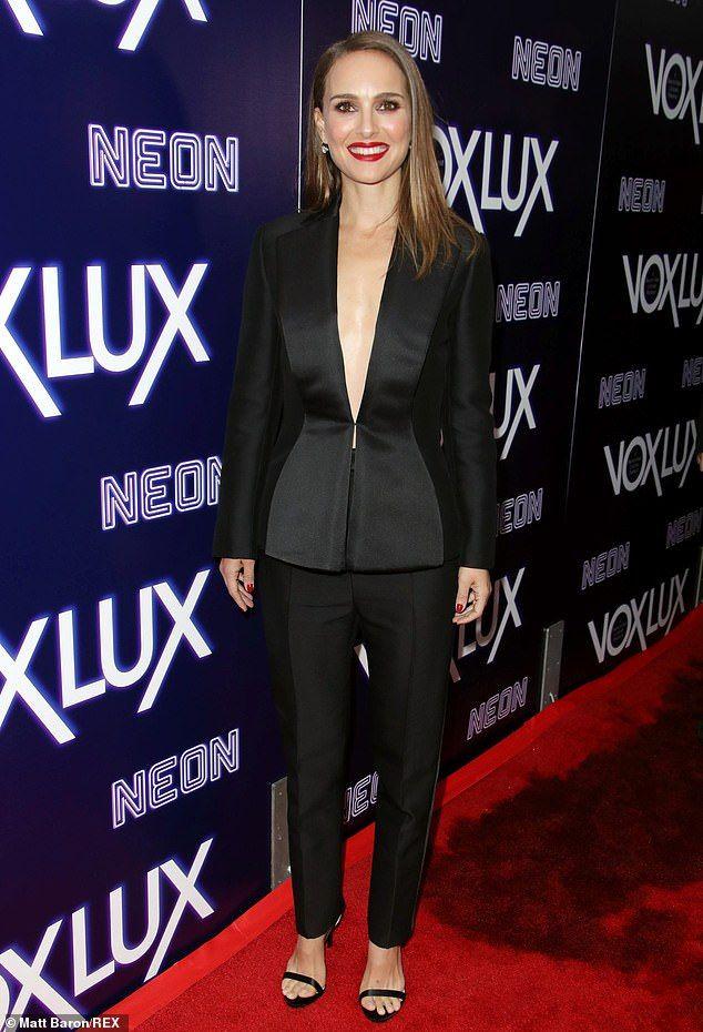 Natalie Portman attends Vox Lux premiere after Jessica