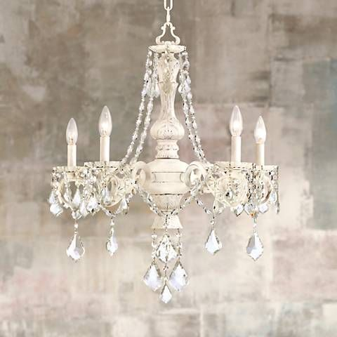 Kathy Ireland Cau De Conde 26 Wide 5 Light Chandelier 8x221 Lamps Plus