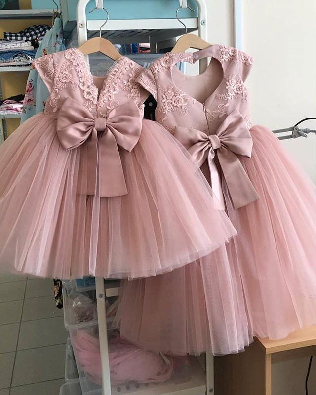 """Laurengirl on Instagram: """"A beautiful neutral color that works for every occasion. Custom Dresses available @laurengirlclothing #wedding #flowergirl…"""""""