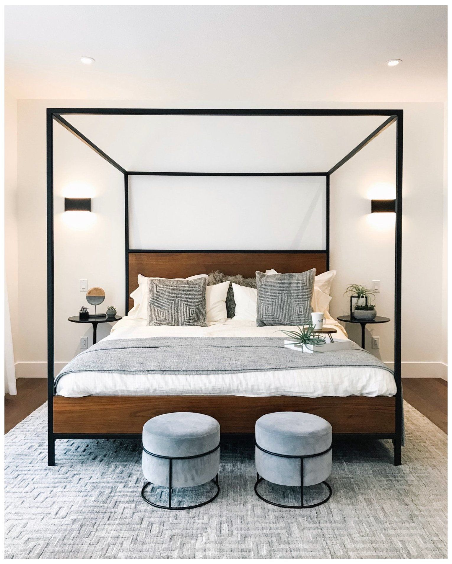 Dream Home Lottery A Designer S Dream Modern Canopy Bed I M Very Excited For Today S Post Because This Year I Ve In 2020 Home Bedroom Home Decor Bedroom Interior