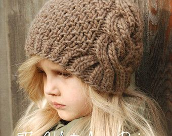 KNITTING PATTERN  Kymmber Slouchy Toddler Child and Adult