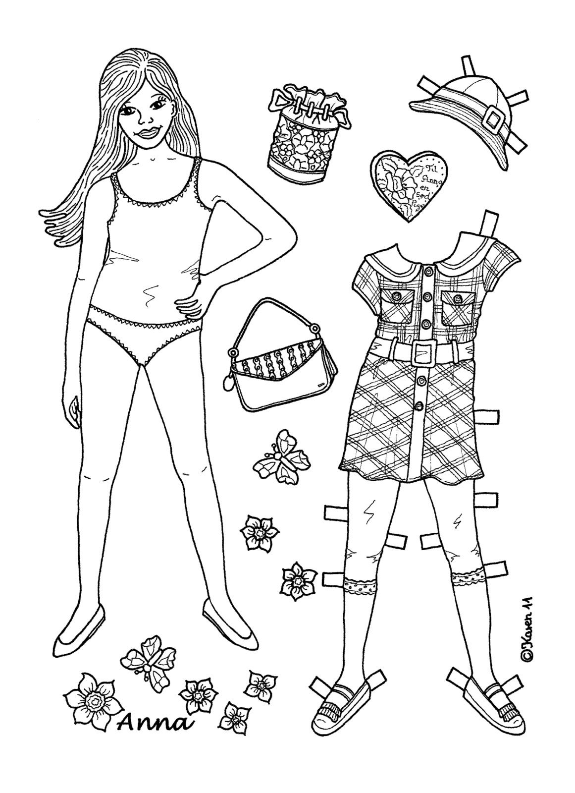 Karen s Paper Dolls 1500 free