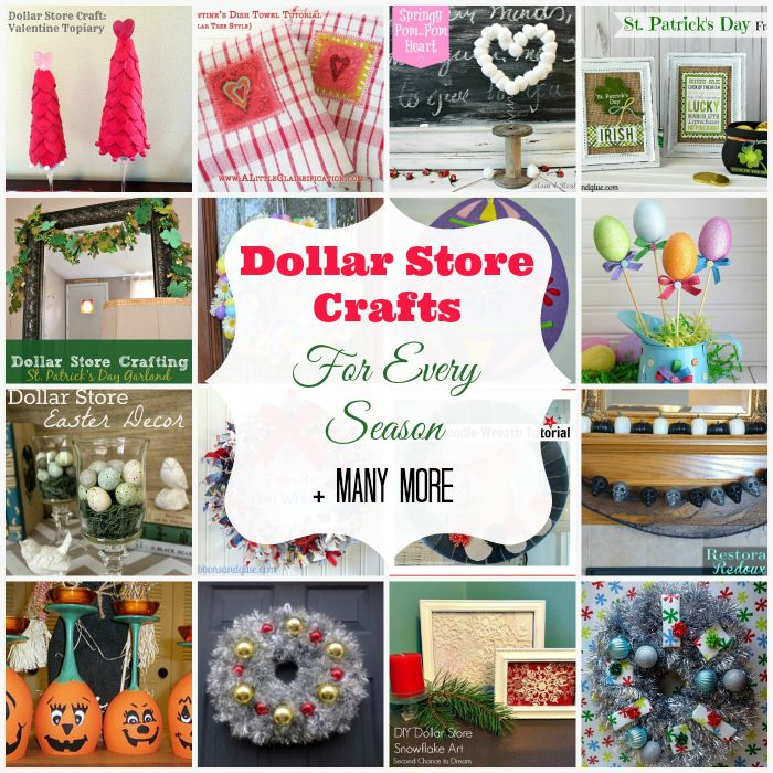 Dollar Store Crafts Part - 17: I Have Been Searching High And Low For Dollar Store Crafts For Every Season  And Came
