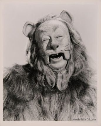 Bert Lahr - The lion - Wizard of Oz