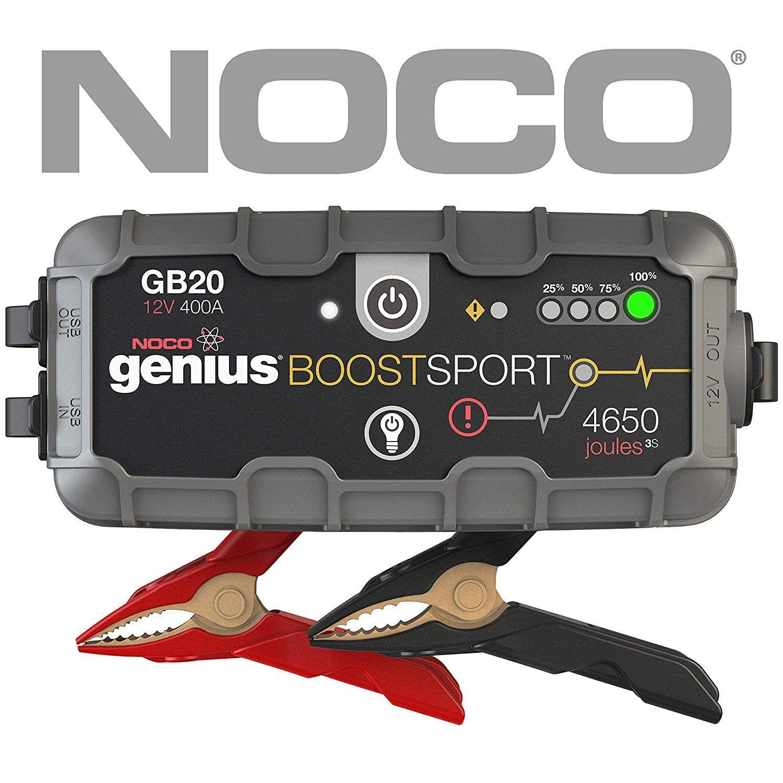 NOCO Boost Sport GB20 400 Amp 12V UltraSafe Lithium Jump