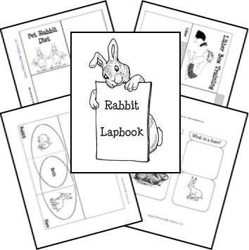 Rabbit Lapbook from Homeschool Share. Great for extended