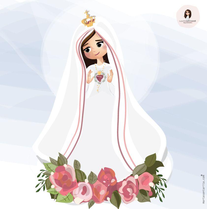 Inspirada Pelo Centenario Das Aparicoes De Nossa Senhora De Fatima