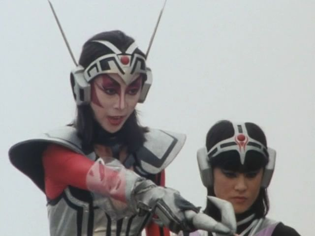 farrah e farrah cat império gear bioman tokusatsu super