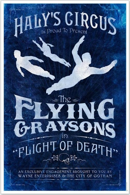 Haly's Circus: Flying Graysons No. 1 Archival Print - DC Collectibles Print