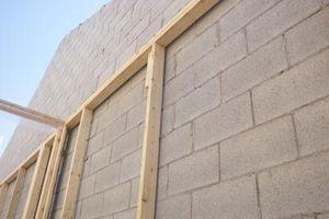 How To Nail A Furring Strip To A Cinder Block Hunker Cinder Block Walls Cinder Block House Concrete Block Walls