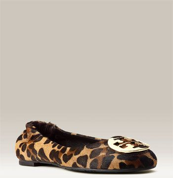 low price fee shipping sale online buy cheap in China Tory Burch Leopard Print Ponyhair Flats oTObK