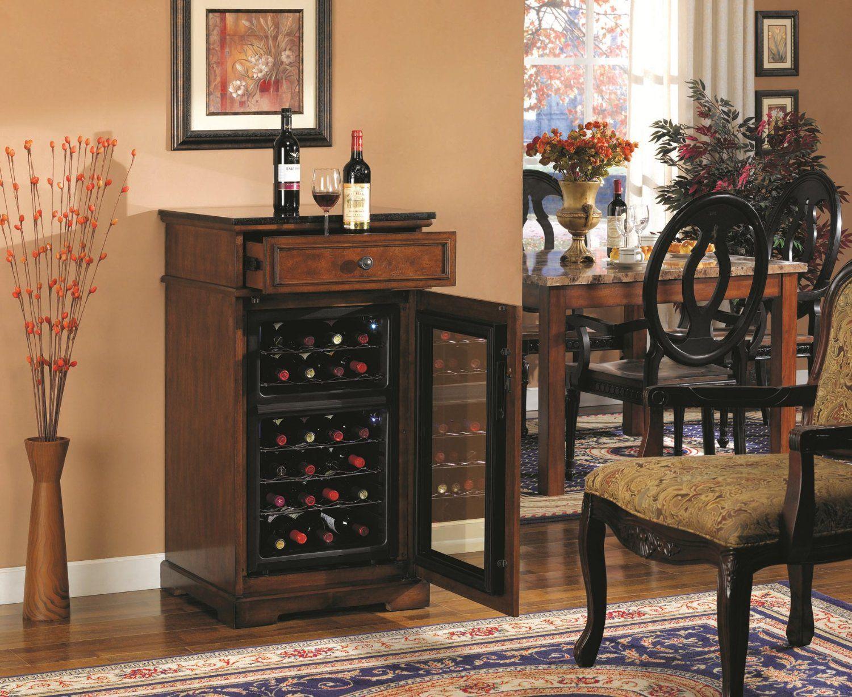 Amazon Com Tresanti Madison Wine Cabinet Cooler Home
