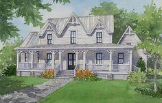 Southern Gothic Plan Sl 1921 Southern House Plans Gothic House House Plans Farmhouse