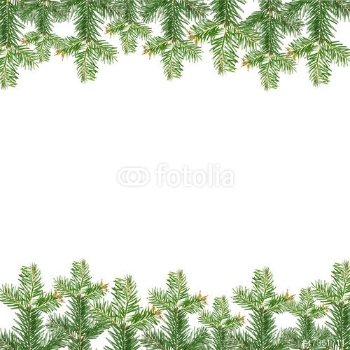 Weihnachtsbilder Tannenzweig.Tannenzweig Rahmen Diarama Frames Tarjetas De Navidad Navidad
