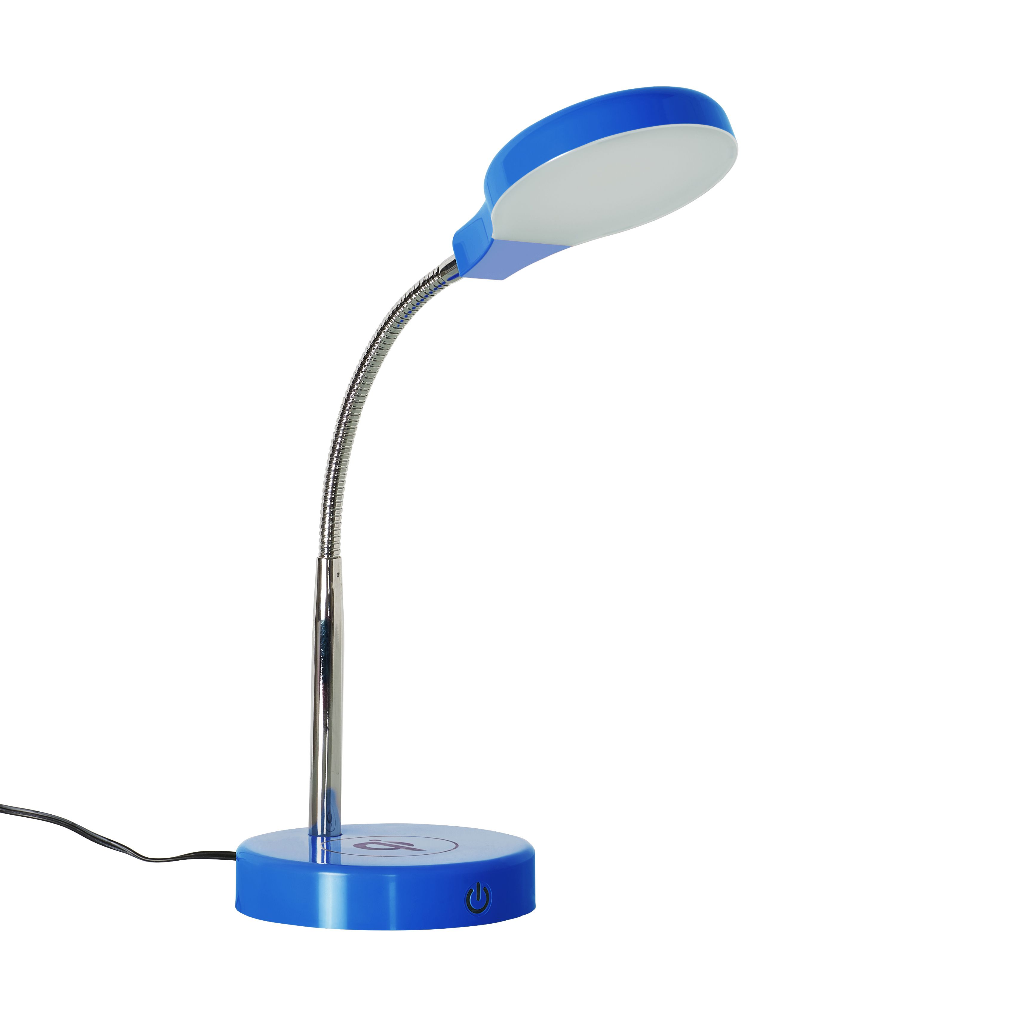 Mainstays Led Desk Lamp With Qi Wireless Charging And Usb Port Desk Lamp Mainstays Desk Lamp Led Desk Lamp Lamp