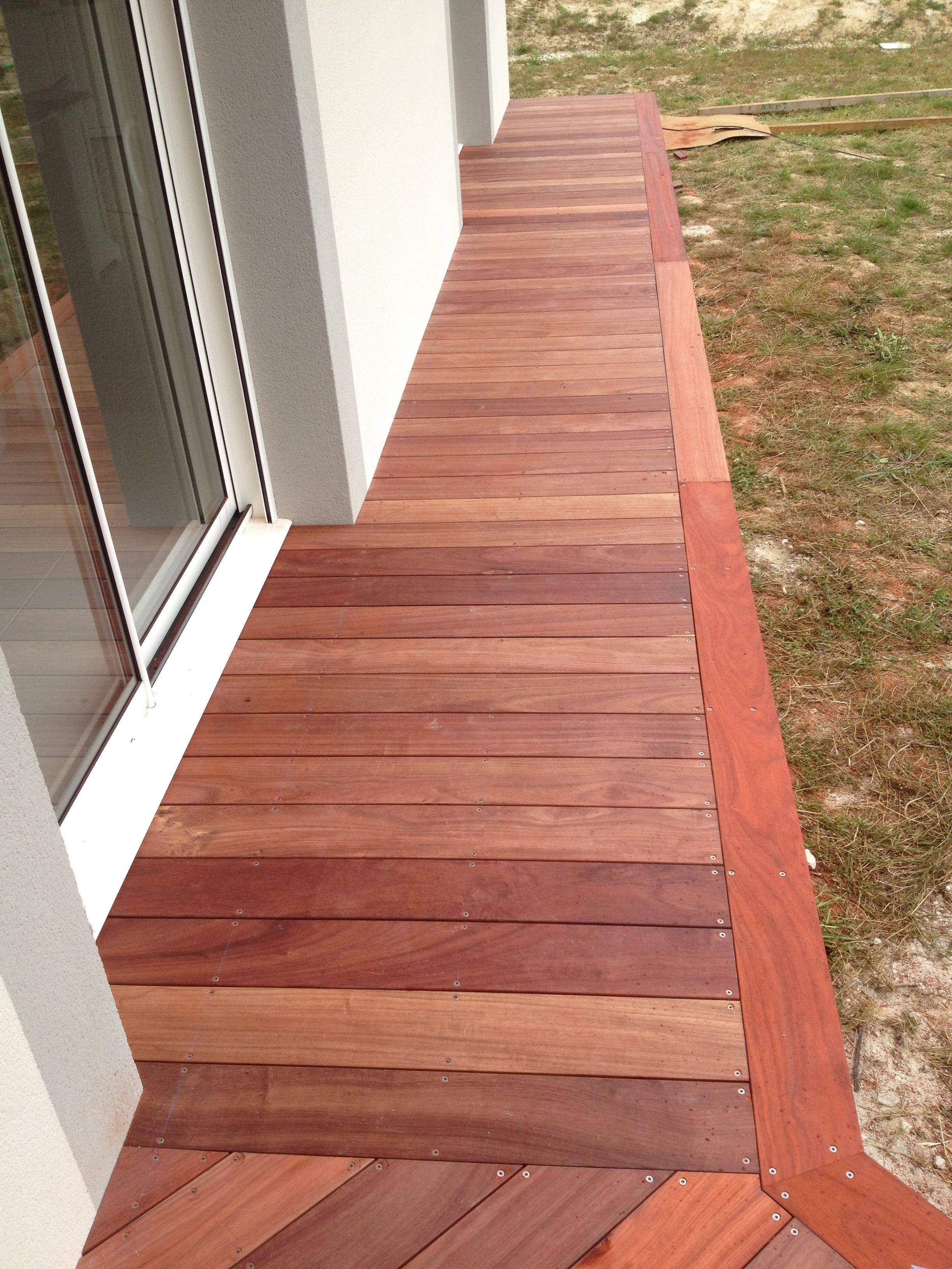 vue de d tail terrasse bois et compagnie par christian vernus terrasse bois exotique. Black Bedroom Furniture Sets. Home Design Ideas