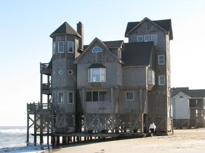 picture of serendipity house on the outer banks filming location for nights in rodanthe. Black Bedroom Furniture Sets. Home Design Ideas