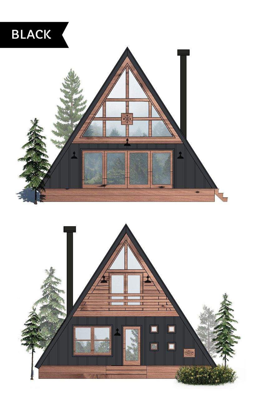Ayfraym Is An Affordable A Frame Cabin In A Box Concept A Frame Cabin Plans A Frame House Plans A Frame House