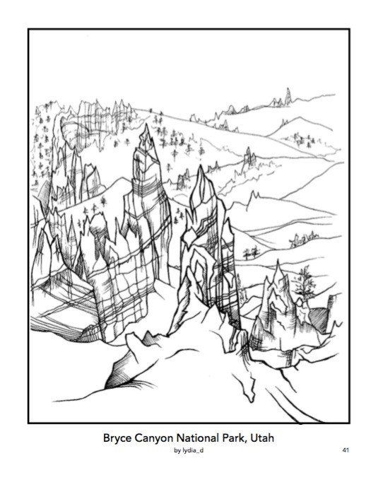 Color Your Park Coloring Book Coloring Books Cat Coloring Book Animal Coloring Books