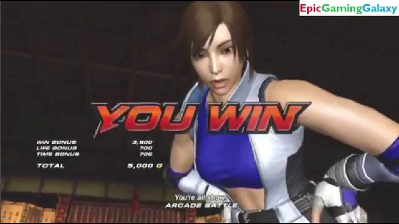 Asuka Kazama Vs Zafina In A Tekken 6 Match Battle Fight This