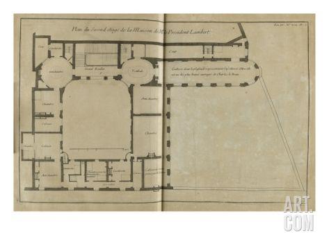 Hotel Lambert plan
