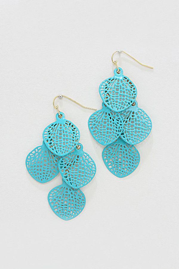 Tiffany Blue Chandelier Earrings TopEarrings – Tiffany Chandelier Earrings