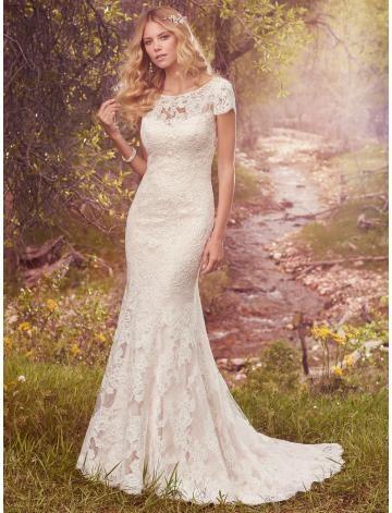 Meerjungfrau Traumhafte Schöne Brautkleider aus Spitze mit Schleppe ...
