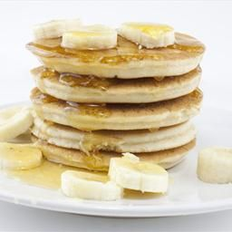 Banana Oatmeal Pancakes on BigOven: This is a hearty and very enjoyable different approach to pancakes that is well worth the effort!  Preparation time is minimal for such a great way to start the day.