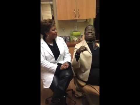 New York Dentist Discusses Smile Makeover Results With Patient