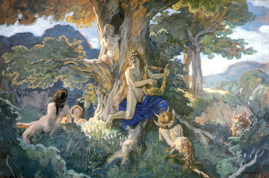 visual art in greek mythology How did greek art influence modern art today archaic ~the art of archaic greece featured a lot of abstract, geometric artwork - the greeks created sculptures called.