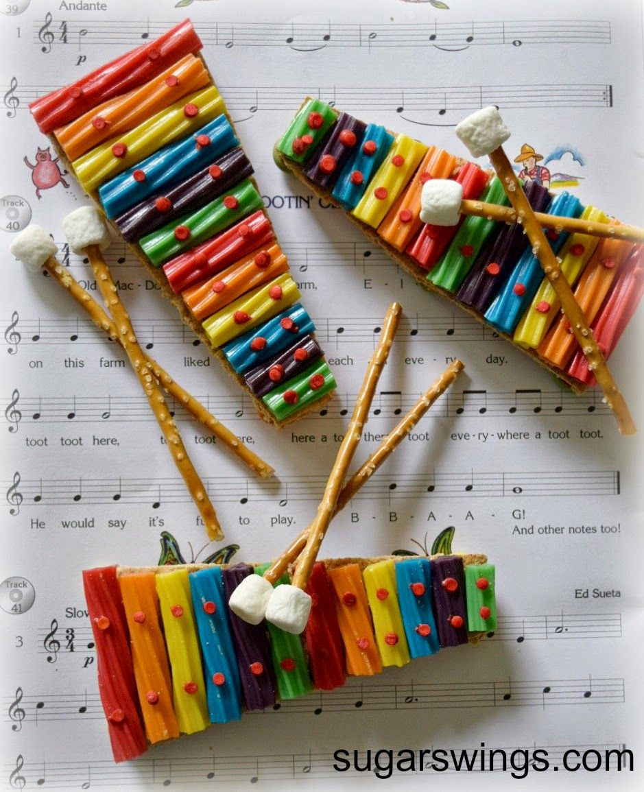Sugar Swings! Serve Some: Rainbow Twizzler Xylophone