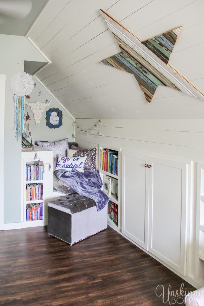Like A Room Without A Roof Spring Home Tour Attic Renovation Attic Flooring Attic House