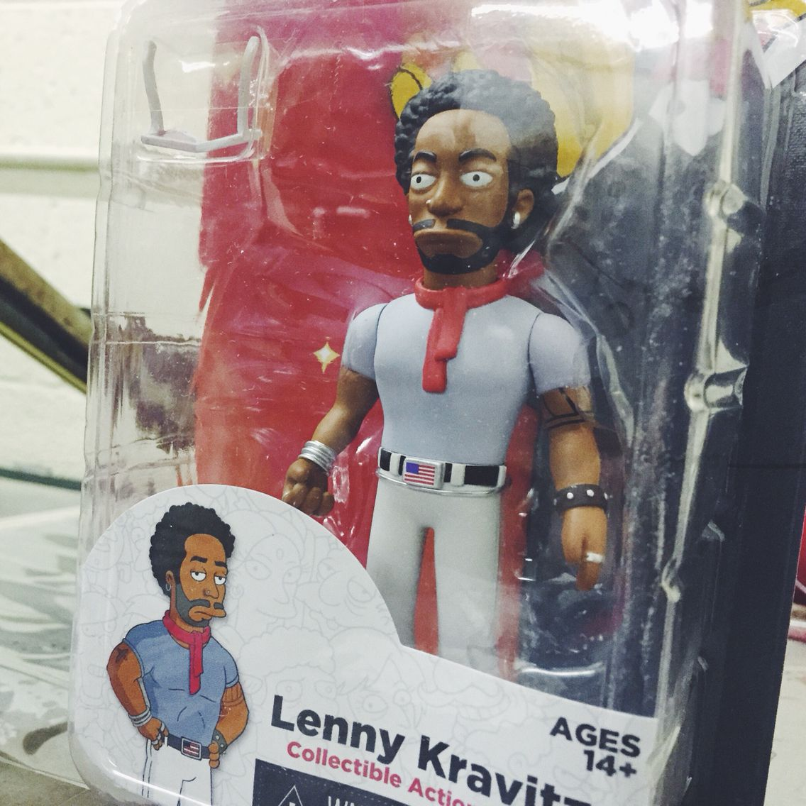 It S Lenny Kravitz As He Appeared On The Simpsons Available Now At Zia Vinyl Figures The Simpsons Action Figures