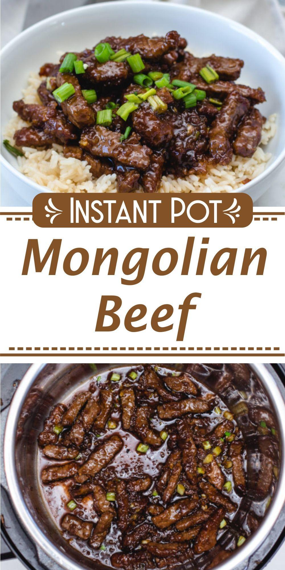 Instant Pot Mongolian Beef Recipe Best Instant Pot Recipe Instant Pot Dinner Recipes Cooker Recipes