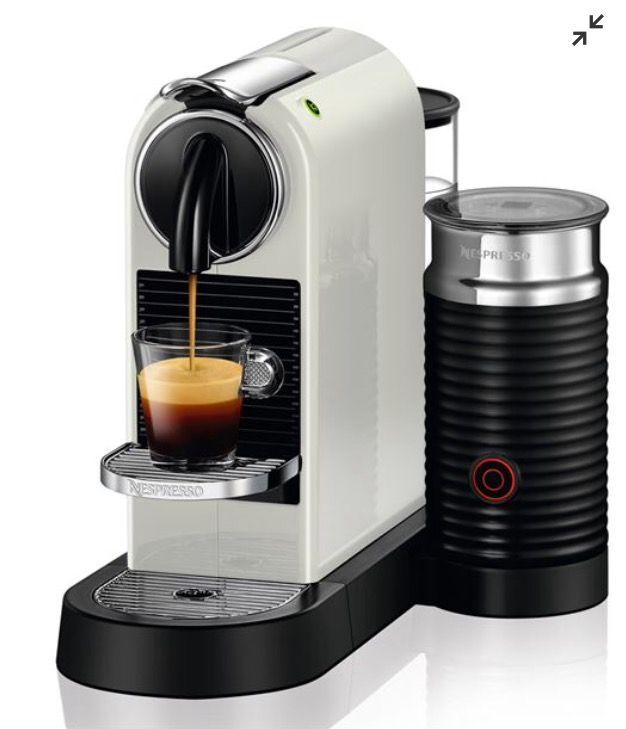 Nespresso Citiz Milk D122 White Nespresso