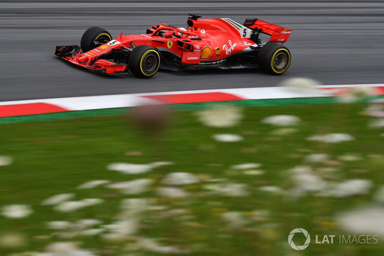 Sebastian Vettel, FP2, Red Bull Ring