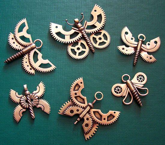 Steampunk Collier Wings /& engrenages Industriel Victorien Costume Accessoire Adulte