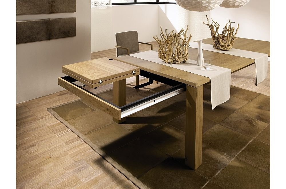 Contemporary Dining Tables Extendable In 2020 Expandable Dining