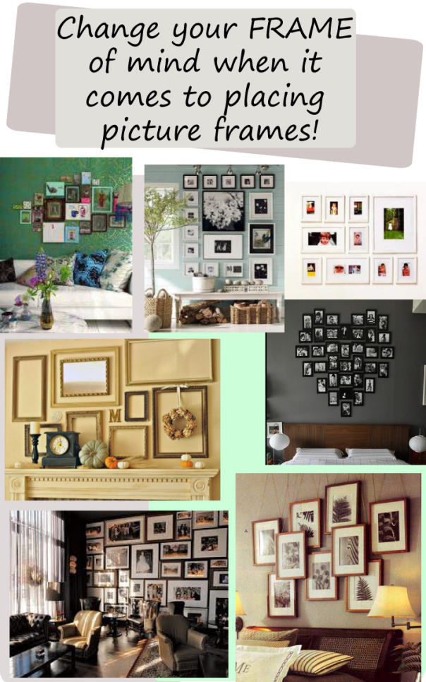 Change your Frame of mind when it comes to picture frames ...