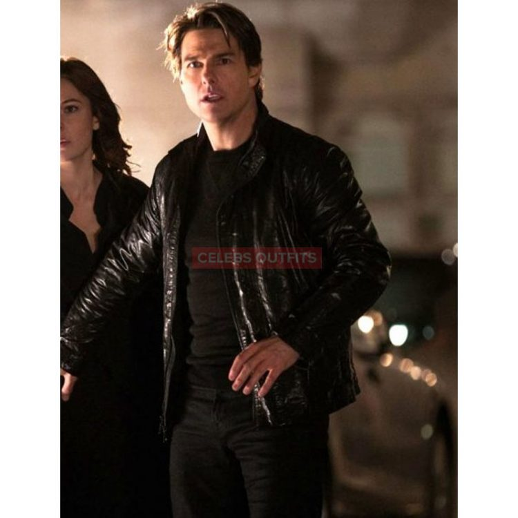 Enhance Your Look With The Smart Celebrity Outfits Celebs Outfits Tom Cruise Mission Impossible Real Leather Jacket Tom Cruise