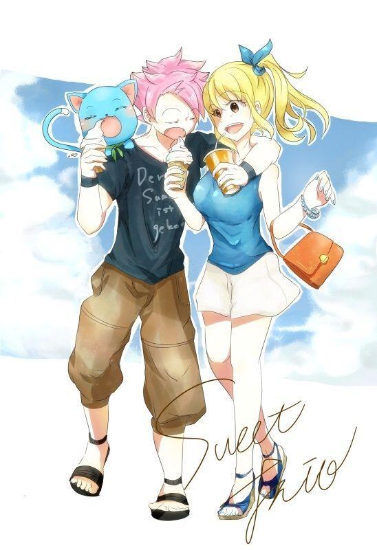Natsu x Lucy <3