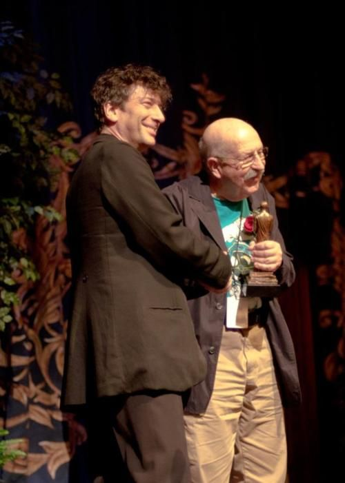 Image result for gene wolfe neil gaiman