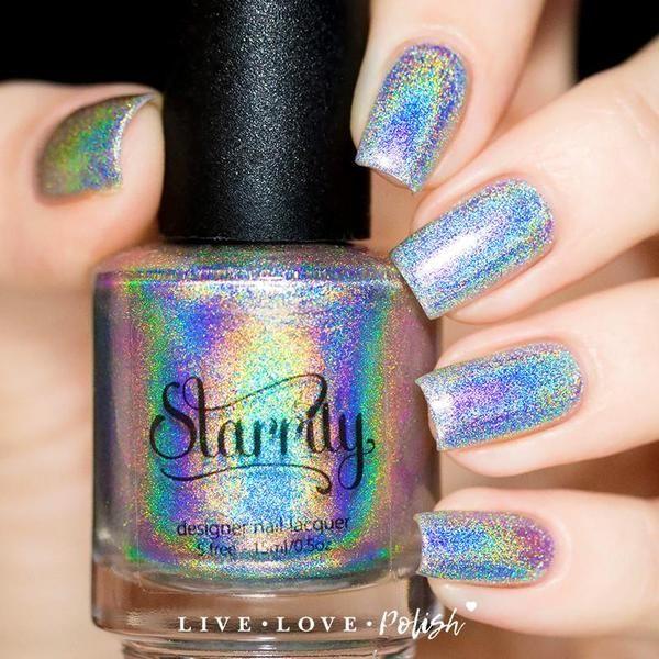 Magic Rainbow Nail Polish