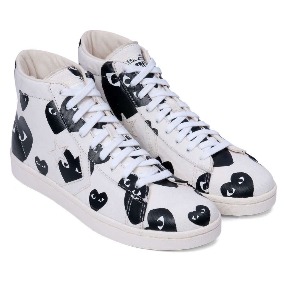 differently detailed pictures hot sale Comme des Garcons x Converse | Play Converse Pro Leather ...